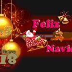 FELIZ NAVIDAD Y PROSPERO AÑO 2018